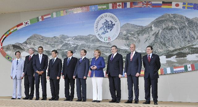 G8 Summit in L'Aquila (part 1)