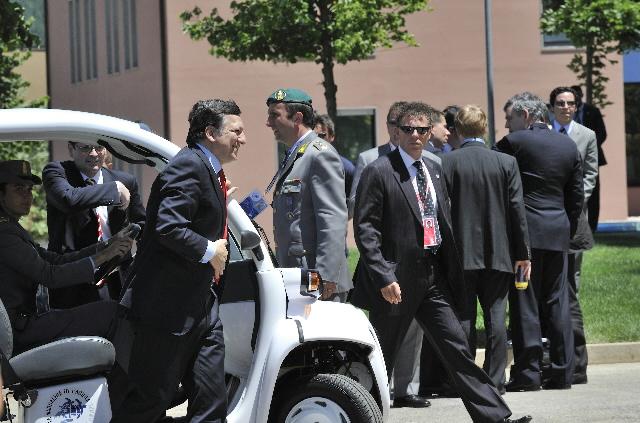 Sommet du G8 à L'Aquila (partie 1)