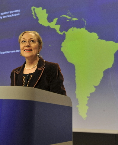 Press conference by Benita Ferrero-Waldner, Member of the EC, on a new vision for EU-Latin America relations