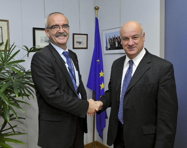 Visit of Werner Kuhn, Member of the EP, to the EC