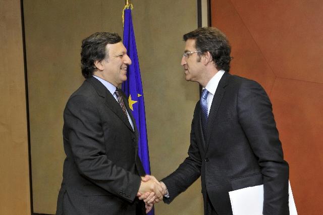 Visit of Alberto Núñez Feijóo, President of the Xunta de Galicia, to the EC