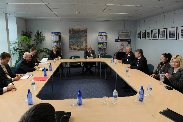 Visit of a delegation of the representatives of the Polish Senate to the EC