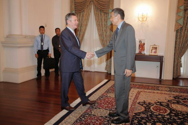 Visit of Karel De Gucht, Member of the EC, to Singapore
