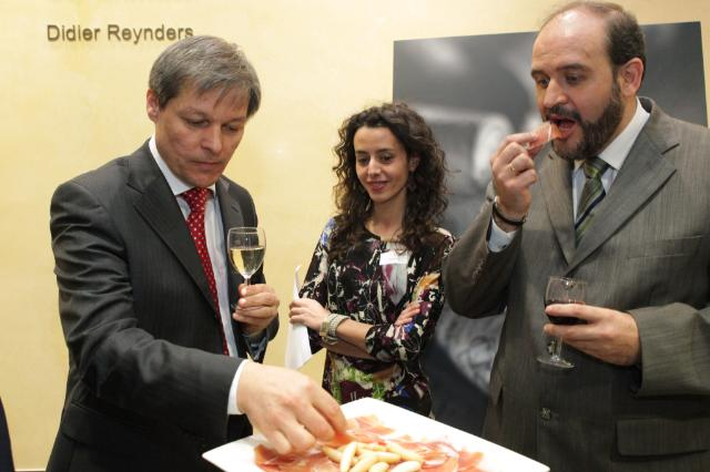 "Participation of Dacian Cioloş, Member of the EC, at the exhibition ""Castile-La Mancha, Quality Certification"