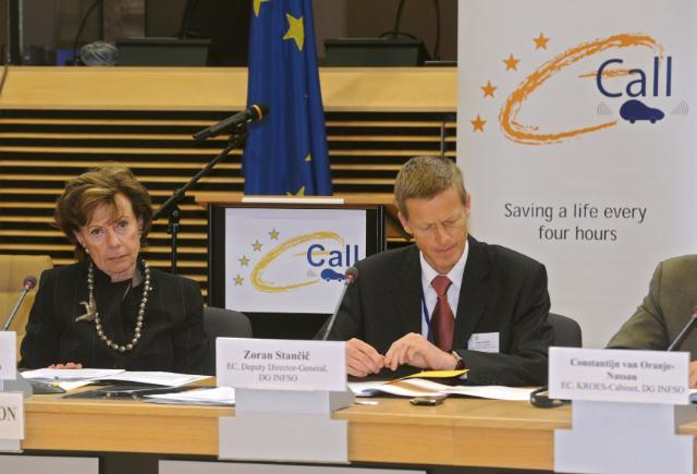 Signature of the EU's Memorandum of Understanding to implement eCall across Europe by Belgium, Denmark, Luxembourg, Malta and Romania