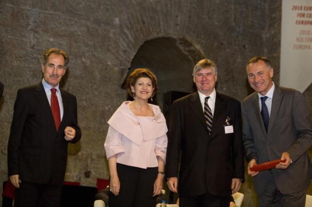 Visite d'Androulla Vassiliou, membre de la CE, en Turquie