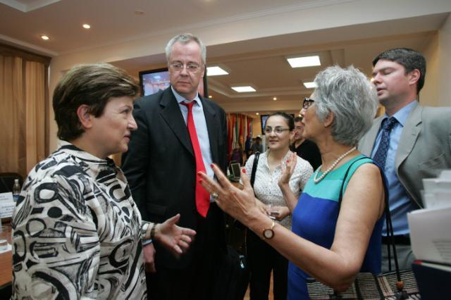 Visit of Kristalina Georgieva, Member of the EC, to Kyrgyzstan