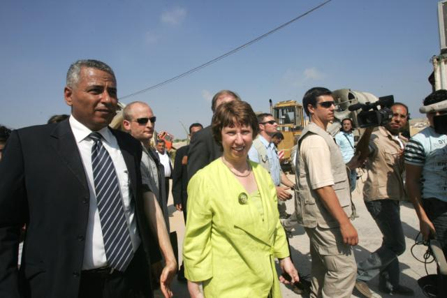 Visit of Catherine Ashton, Member of the EC, to the Middle-East