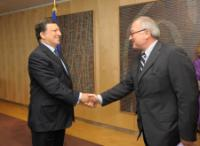Visit of Jean-Jacques Dordain, Director-General of the European Space Agency, to the EC