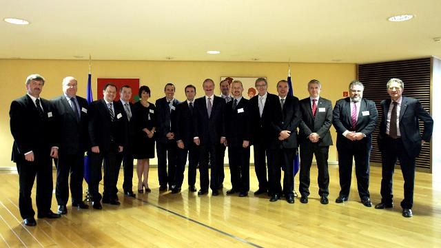 Participation of Siim Kallas, Vice-President of the EC, at the first meeting of the Aviation Platform