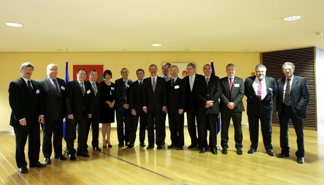 Participation de Siim Kallas, vice-président de la CE, à la première réunion de la plate-forme Aviation