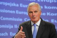 Conférence de presse de Viviane Reding, vice-présidente de la CE, et Michel Barnier, membre de la CE, sur le pacte pour le marché unique