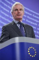 Press conference by Michel Barnier, Member of the EC, on strengthening sanctions for violations of EU financial services rules