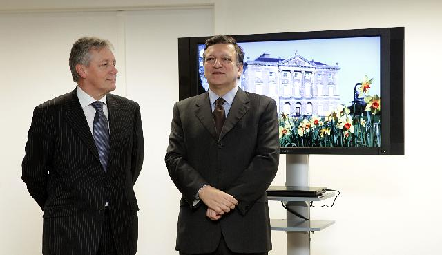 Participation of José Manuel Barroso, President of the EC, at the opening of the Office of the Northern Ireland Executive in Brussels
