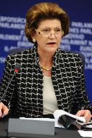 Press conference by Androulla Vassiliou, Member of the EC, on the European dimension of sport