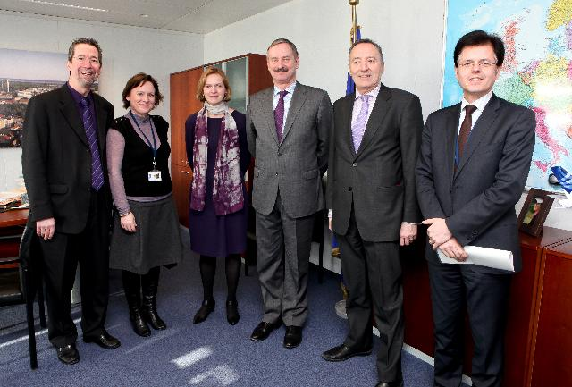 Visit of Stéphane Buffetaut, President of the TEN Section of the EESC, to the EC