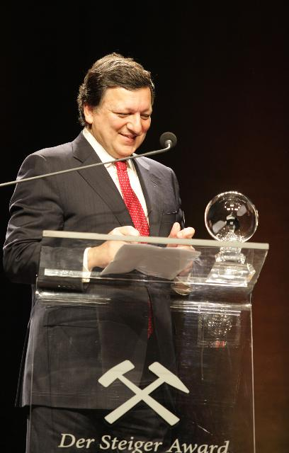Participation of José Manuel Barroso, President of the EC, at the award ceremony of