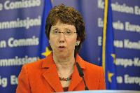 Press conference by Catherine Ashton, Vice-President of the EC, on the situation in Libya