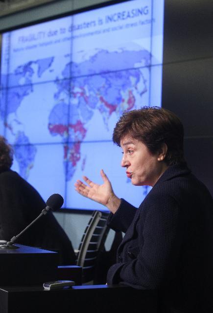 Participation de Kristalina Georgieva, membre de la CE, à la conférence intitulée La recherche de la solidarité: développer les capacités de l'UE pour la crise et la gestion des catastrophes