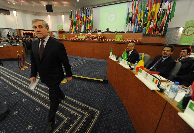 Visit of Antonio Tajani, Vice-President of the EC, to Algeria
