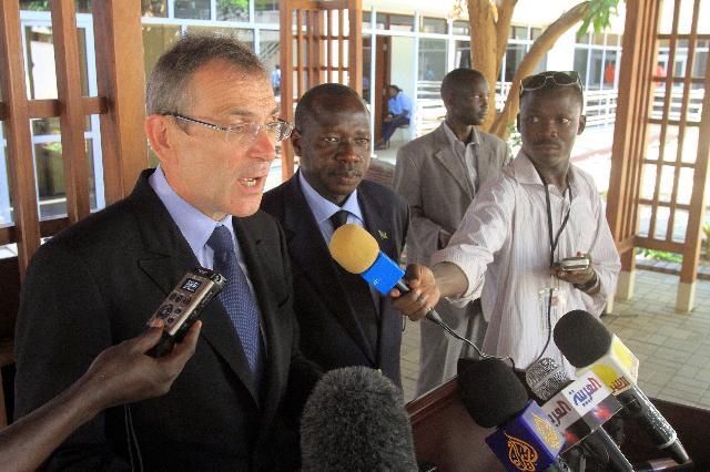 Visit of Andris Piebalgs, Member of the EC, to Sudan and South Soudan