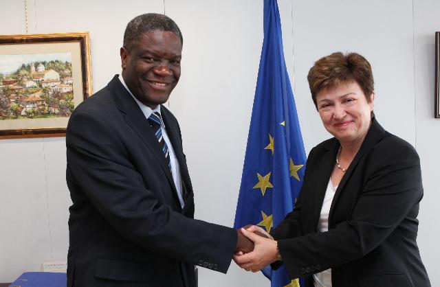 Visite de Denis Mukwege, directeur de l'hôpital Panzi à Bukavu, à la CE
