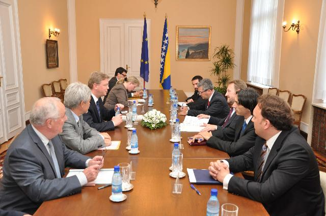 Visit of Štefan Füle, Member of the EC, to Bosnia and Herzegovina