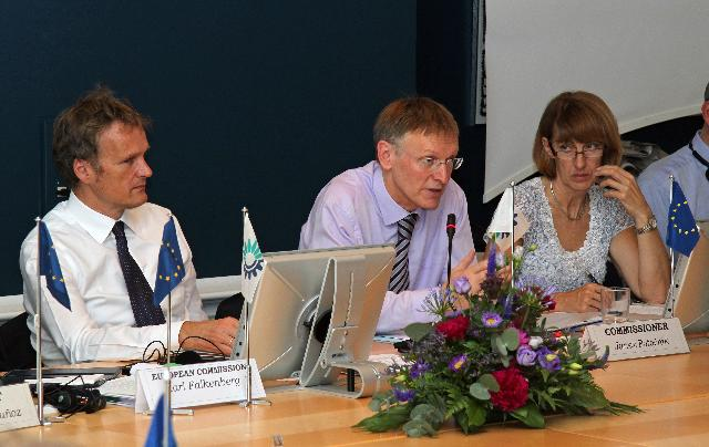 Visit of Janez Potočnik, Member of the EC, to Copenhagen