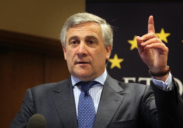 Participation d'Antonio Tajani, vice-président de la CE, à la