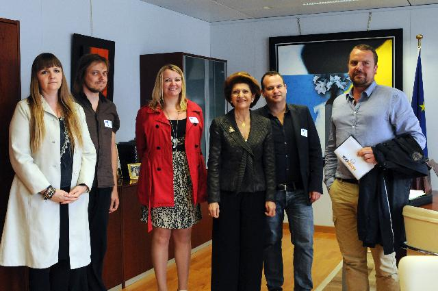 Visit of Kelvin Smits, Director of Younison, to the EC