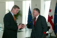 Visit of Štefan Füle, Member of the EC, to Georgia