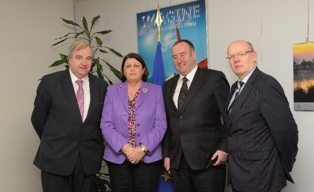 Visit of Members of the Irish Farmers Association to the EC