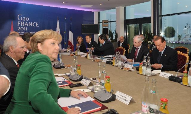 Sommet du G20 à Cannes
