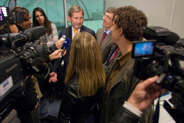 Visit of Johannes Hahn, Member of the EC, to Portugal