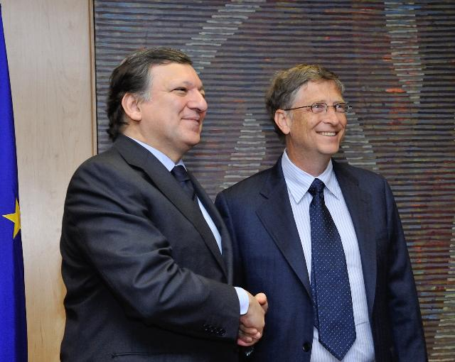 Visit of Bill Gates, Co-Chair of the Bill & Melinda Gates Foundation and Chairman of Microsoft Corporation, to the EC