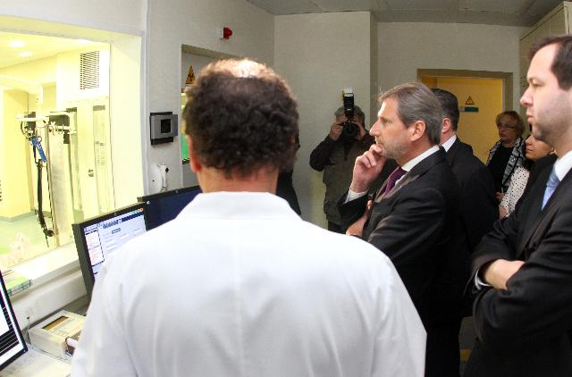 Visit of Johannes Hahn, Member of the EC, to Lithuania