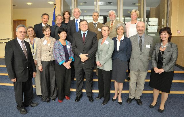 Participation of José Manuel Barroso, President of the EC, in a working dinner on Science and Technology