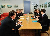 Visit of Stéphane Le Foll, French Minister for Agriculture, Food and Forest, to the EC