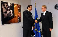 Visit of Marian Lupu, Chairman of the Moldovan Parliament, to the EC