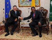 Visit of José Manuel Barroso, President of the EC, to Benin