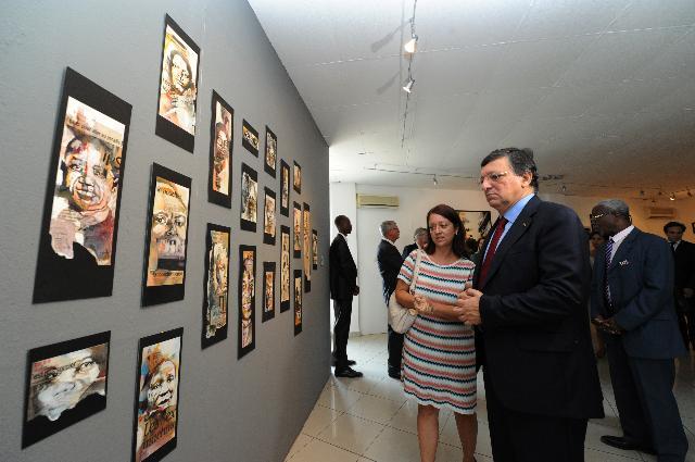 Visite de José Manuel Barroso, président de la CE, au Bénin