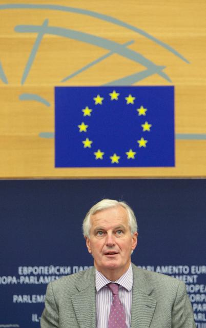 Press conference by Michel Barnier, Member of the EC, on the action plan for online gambling