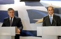 Visit of Antonio Tajani, Vice-President of the EC, and Maria Damanaki, Member of the EC, to Greece
