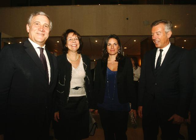 Visit of Antonio Tajani, Vice-President of the EC, and Maria Damanaki, Member of the EC, to Greece