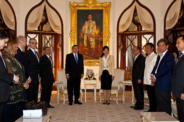 Visit of José Manuel Barroso, President of the EC, to Thailand