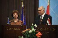Visit of Catherine Ashton, Antonio Tajani and Štefan Füle to Egypt
