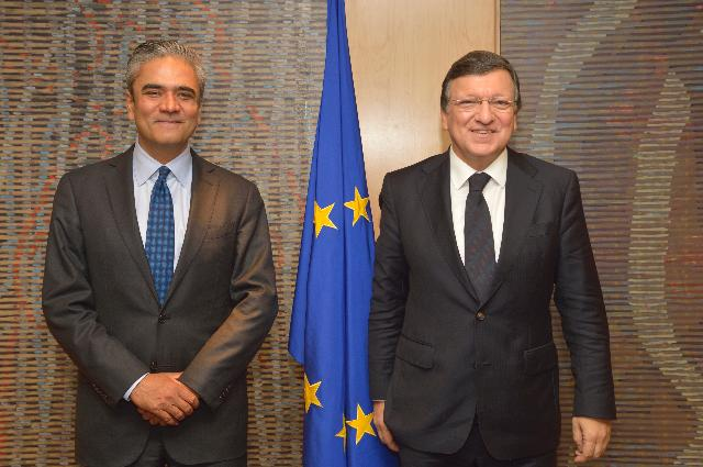 Visit of Anshu Jain, co-Chairman of the Management Board of the Deutsche Bank, to the EC