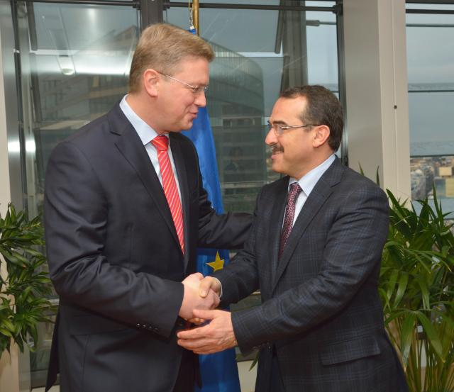 Visit of Sadullah Ergin, Turkish Minister for Justice, to the EC