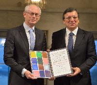 Award ceremony of the 2012 Nobel Peace Prize® to the EU