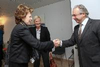 Visit of Jean-Paul Philippot, President of the EBU, and Ingrid Deltenre, Director General of the EBU, to the EC